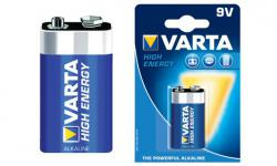 Алкална Батерия 9V VARTA HIGH ENERGY - 1бр.