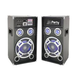 Домашни тонколони KARAOKE12 FM/SD/USB/BLUETOOTH, 2x100W