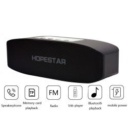 2-в-1 Bluetooth колонка HOPESTAR H11+ Power Bank, USB/micro SD card/AUX, FM радио, литие