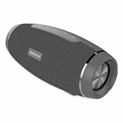 2-в-1 Bluetooth колонка HOPESTAR H27+ Power Bank, влагозащитена, USB/micro SD card/AUX, FM радио, литиево-йонна батерия, сива