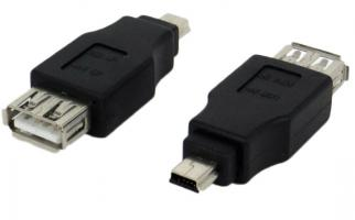 USB to Mini-USB Конектор